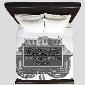 2-Milton Friedman on Concentrated Power King Duvet
