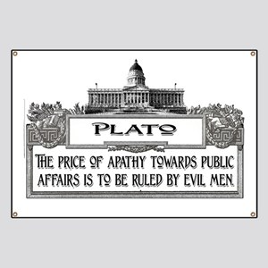 2-Plato on Evil Men lights Banner