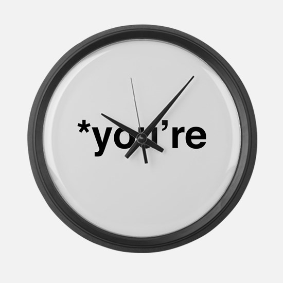 *You're Large Wall Clock