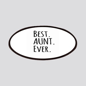 Best Aunt Ever Patches