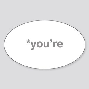 *You're Sticker (Oval)