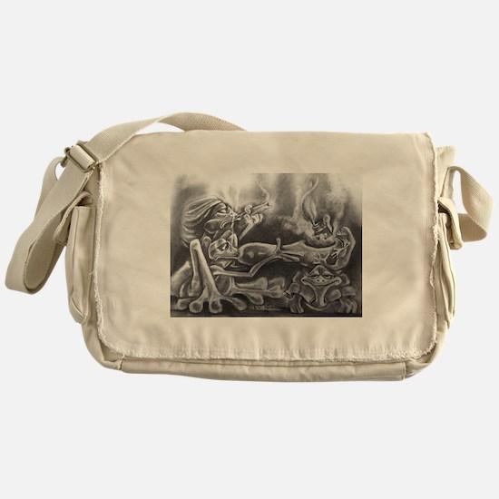 It takes a village Messenger Bag