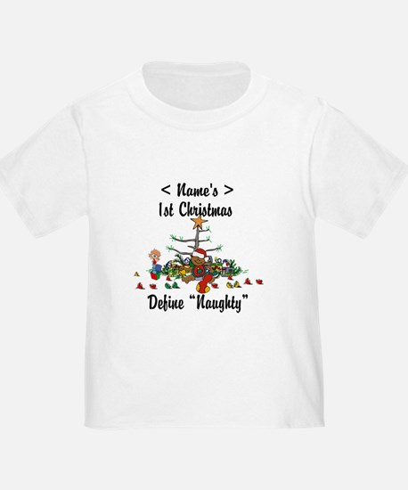 Personalized First Christmas T