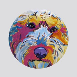 Sunshine The Doodle Ornament (Round)