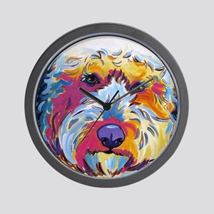 Sunshine The Doodle Wall Clock