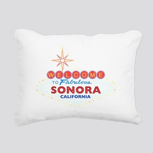 SONORA Rectangular Canvas Pillow