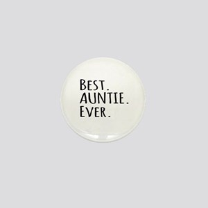 Best Auntie Ever Mini Button