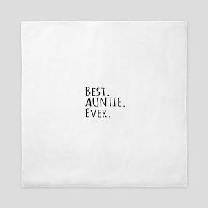 Best Auntie Ever Queen Duvet