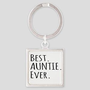 Best Auntie Ever Keychains