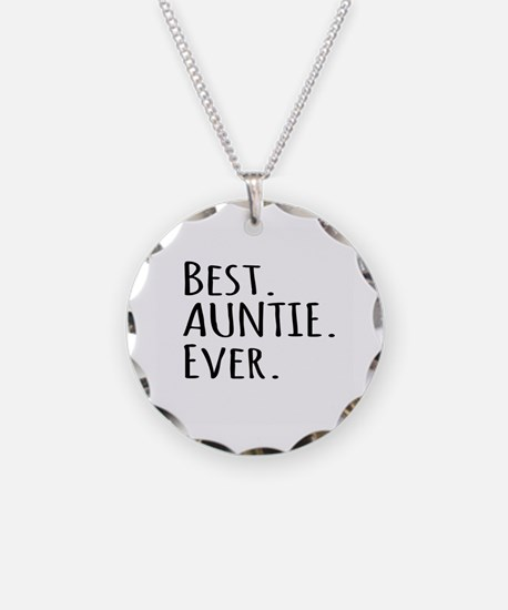Best Auntie Ever Necklace