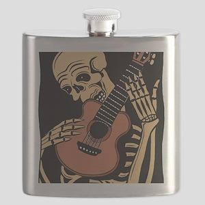 skullguitarcolor2 Flask