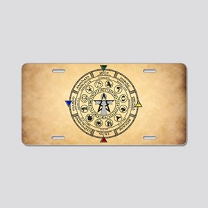 Wheel of the Year Z... Aluminum License Plate