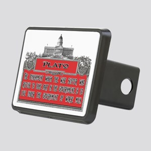 Plato Punishment of the Wi Rectangular Hitch Cover