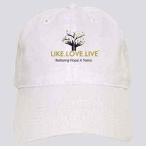 LIKE.LOVE.LIVE Baseball Cap