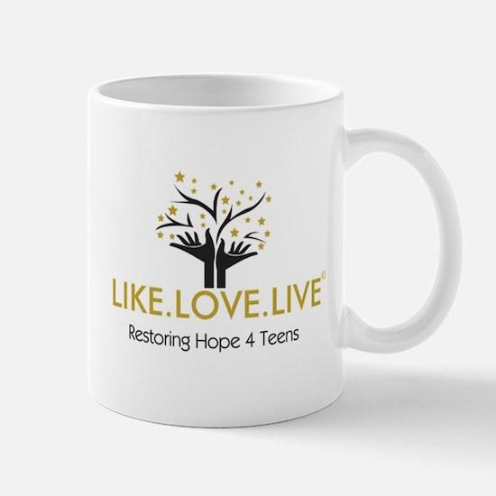 LIKE.LOVE.LIVE Mugs