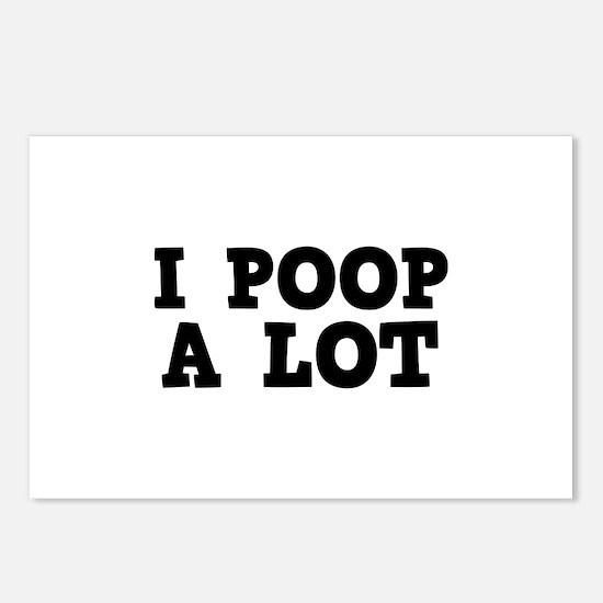 I Poop A Lot Postcards (Package of 8)