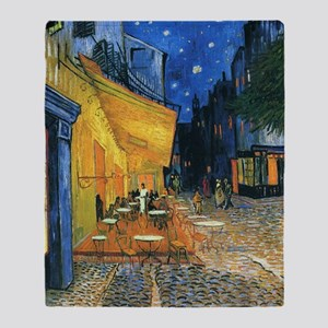 Van Gogh Cafe Terrace Throw Blanket
