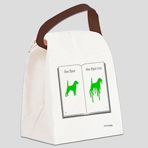 See Spot Run Canvas Lunch Bag