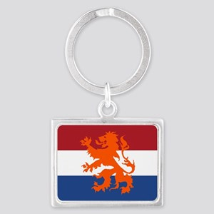 Holland Lion Flag Keychains
