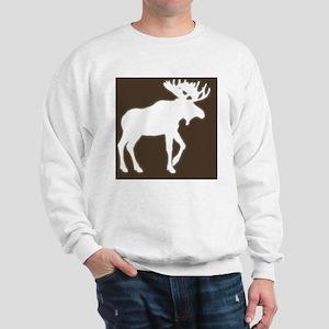 BigMooseGlowBrownTexture Sweatshirt