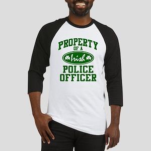 Irish Police Property Baseball Jersey
