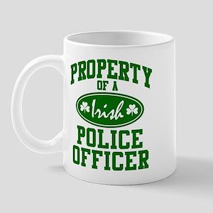 Irish Police Property Mug
