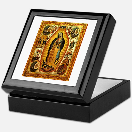 Virgen de Guadalupe Keepsake Box