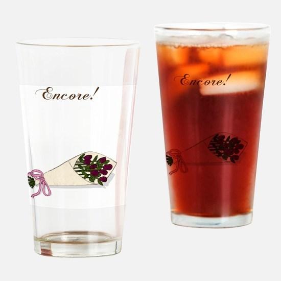 Encore Bouquet Drinking Glass