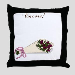 Encore Bouquet Throw Pillow