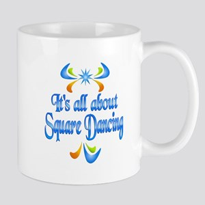 About Square Dancing Mug