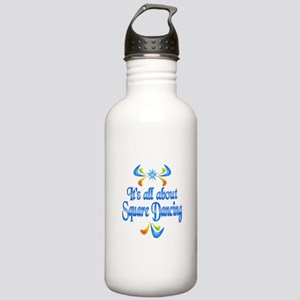 About Square Dancing Stainless Water Bottle 1.0L