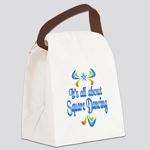 About Square Dancing Canvas Lunch Bag