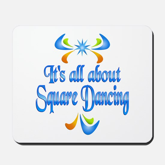 About Square Dancing Mousepad