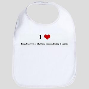 I Love Lulu, Sassy Too, DK, S Bib