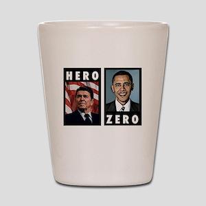 zerohero2forblack Shot Glass