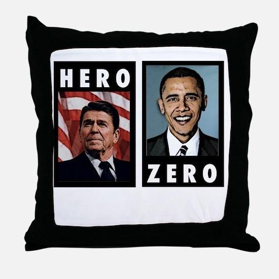 zerohero2forblack Throw Pillow