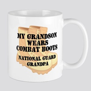National Guard Grandpa Grandson Desert Combat Boot