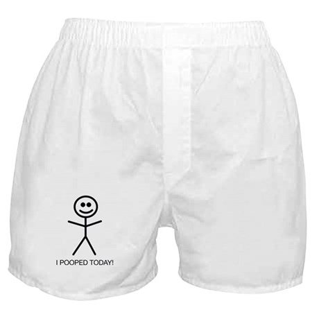 I Pooped Today! Ho Fatto La Cacca Oggi! Boxer Shorts Boxer UibSxns
