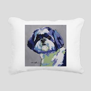 ShihTzu - Ringo s6 Rectangular Canvas Pillow