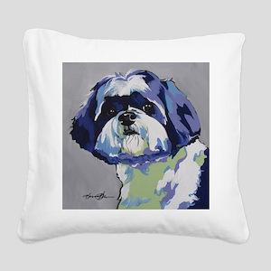 ShihTzu - Ringo s6 Square Canvas Pillow
