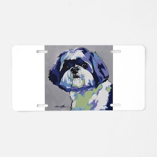 ShihTzu - Ringo s6 Aluminum License Plate