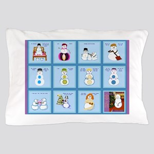 Snow Folks 5x7 Pillow Case