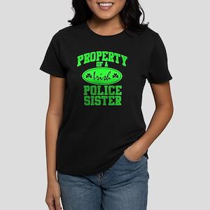 Irish Police Sister Women's Dark T-Shirt