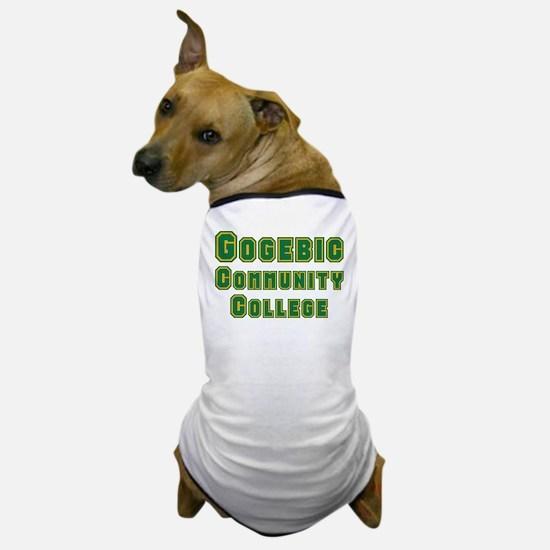 Gogebic Community College Dog T-Shirt