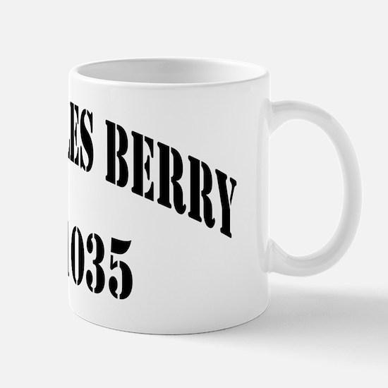 cberry black letters Mug