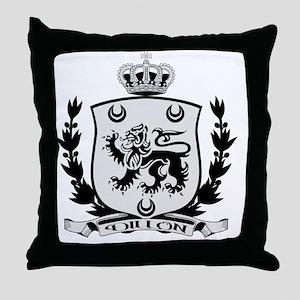 Dillon Crest for Light Throw Pillow