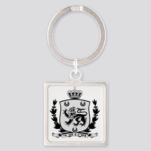 Dillon Crest for Light Square Keychain