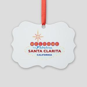 SANTA CLARITA Picture Ornament