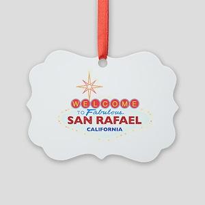 SAN RAFAEL Picture Ornament