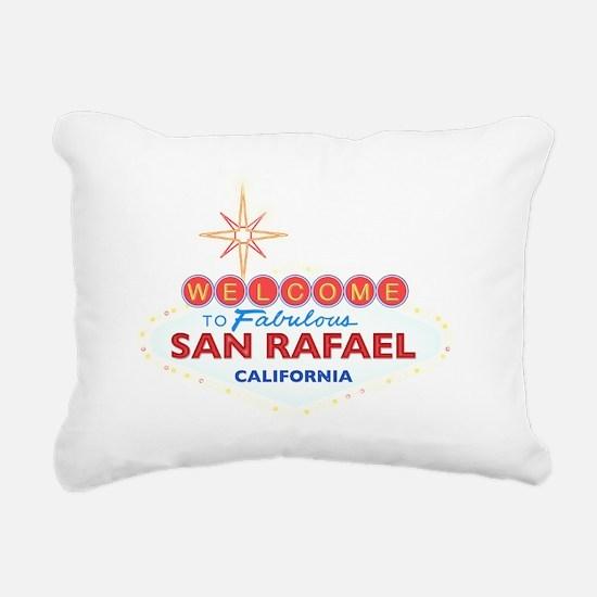 SAN RAFAEL Rectangular Canvas Pillow